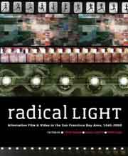 Book cover for Radical Light that features abstract film images