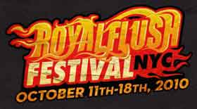 Flaming film festival logo