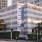 Exterior of the Hammer Museum in Westwood, California