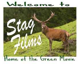 Logo featuring a picture of a stag