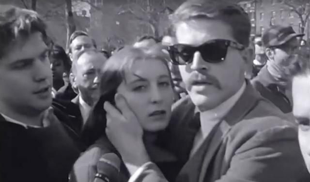 Beatnik couple 1961