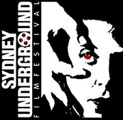 Sydney Underground Film Festival logo featuring a drawing of Un Chien Andalou