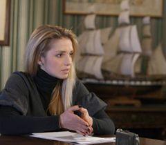 Євгенія Тимошенко сидить за столом в кабінеті. Київ, 19 січня