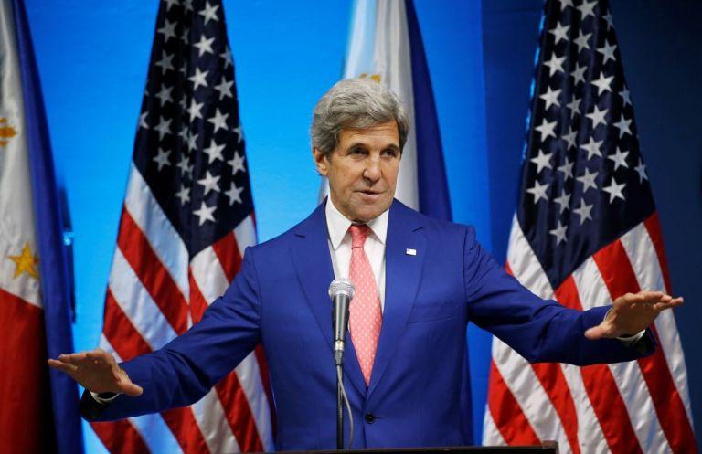 Керри напомнил Кремлю о поддержке НАТО и ЕС единой Украины: