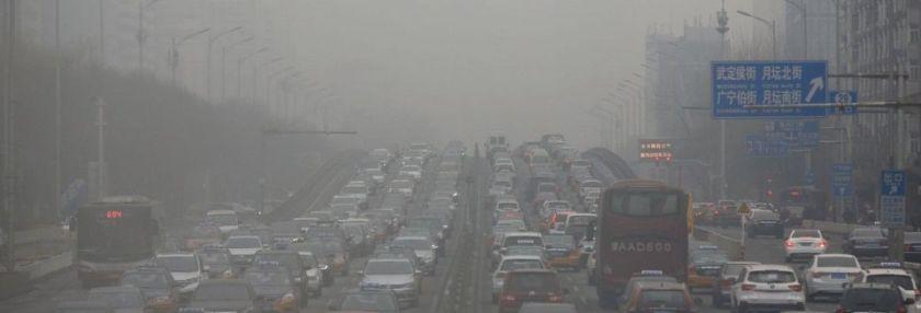 """У Пекіні оголосили """"жовте"""" попередження про смог"""