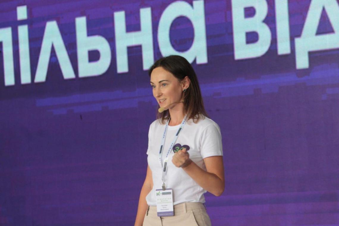 """Председатель женского движения """"За майбутнє"""" Ирина Суслова"""