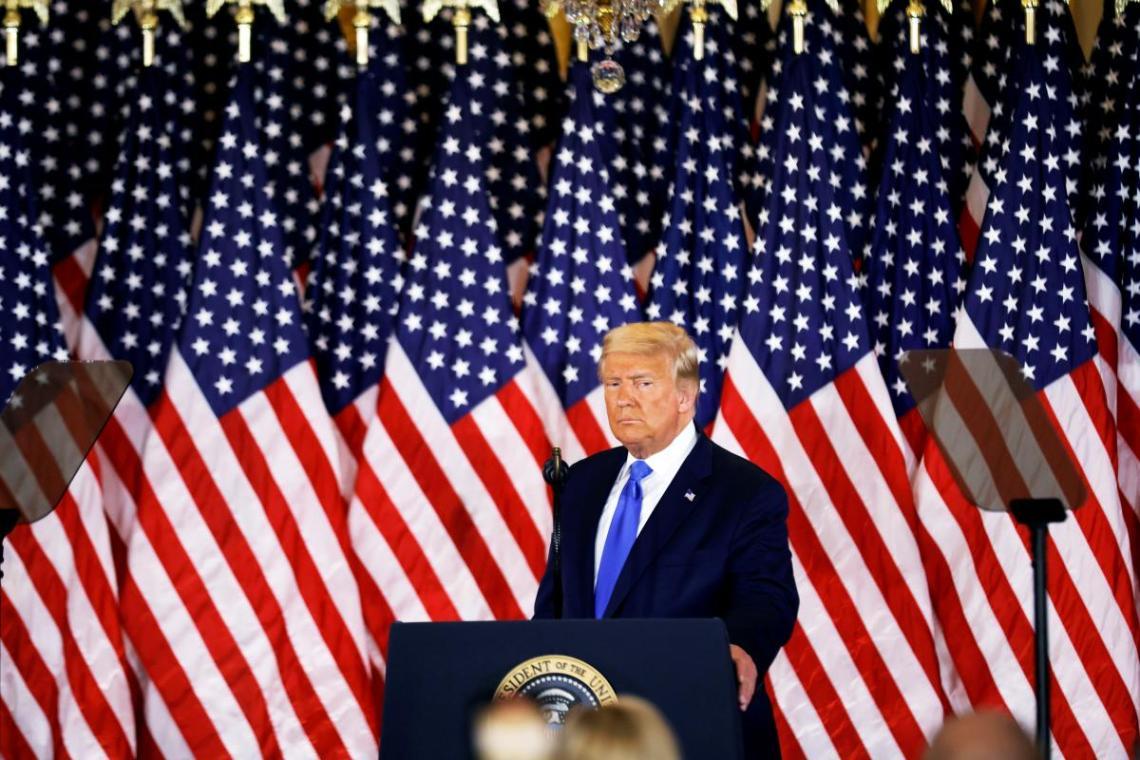 Трамп заявил, что был проинформирован о произодшем / Фото: REUTERS