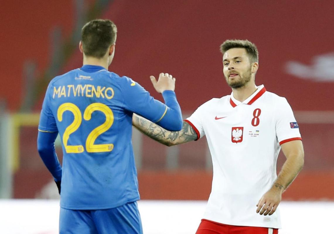 Товарищеский матч между Украиной и Польшей завершен / фотоREUTERS