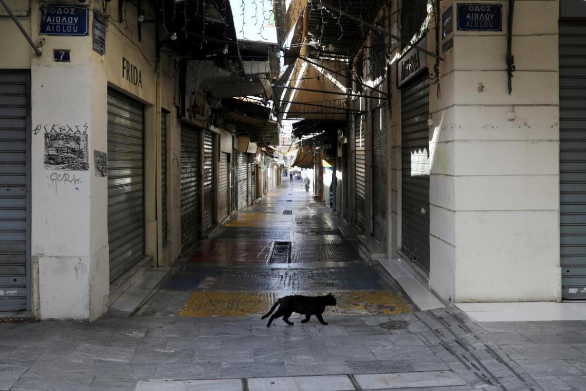 Комендантский час в Греции продлится с 21:00 до 05:00 / фото REUTERS