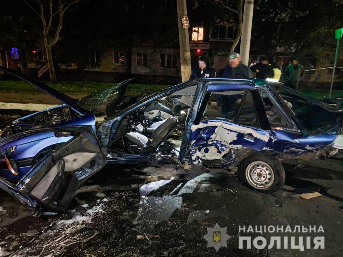 Водитель BMW скрылся с места происшествия / фото ГУ НП в Николаевской области