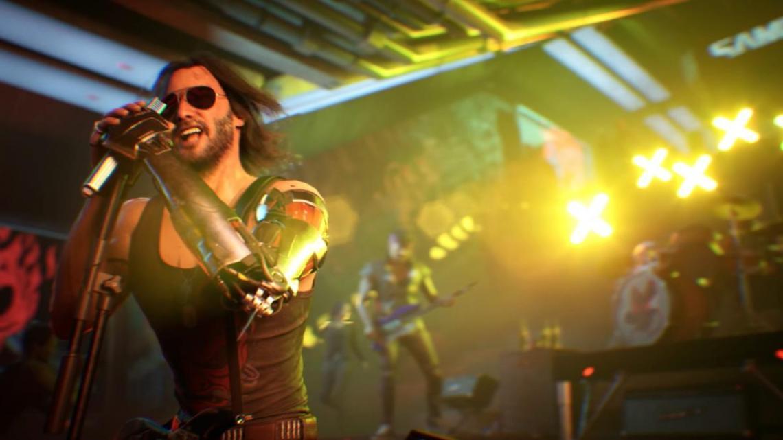 Джонни отрывается на концерте / фото CD Projekt RED