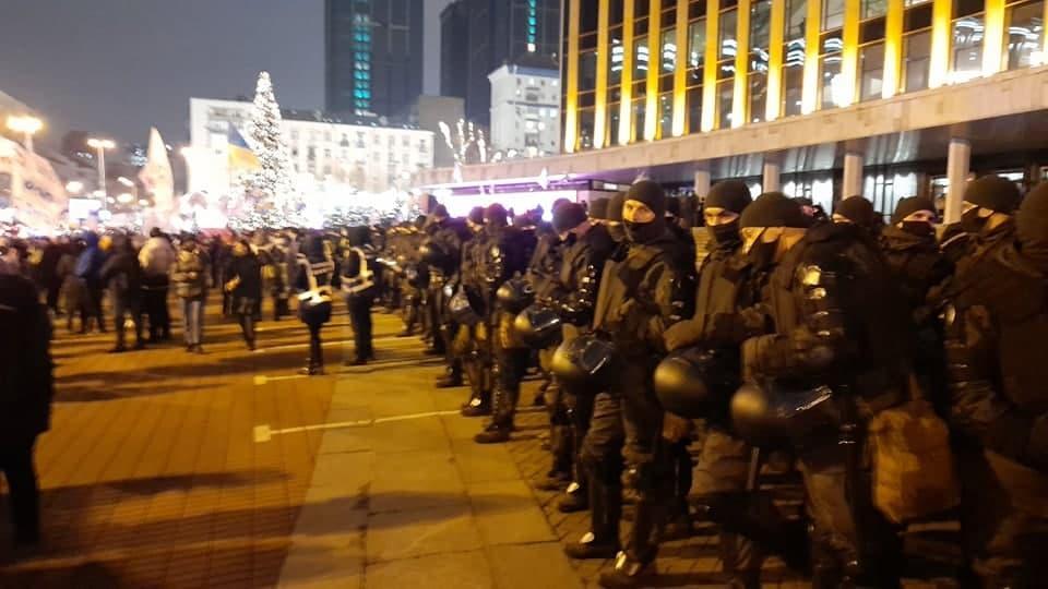 Ситуация на Майдане Незалежности / УНИАН