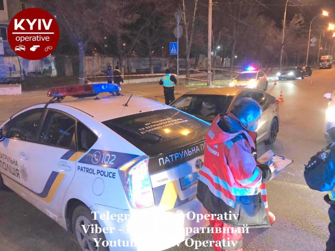 Водителя доставили в больницу / Киев Оперативный Facebook