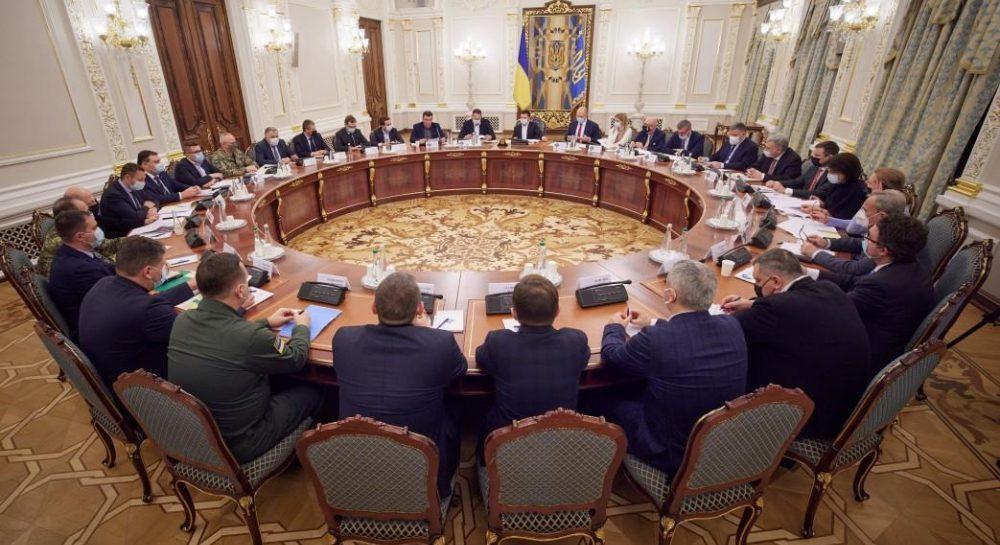 Заседание СНБО - 2 апреля Совет нацбезопасности и обороны Украины снова ...