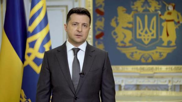 Vladimir Zelensky / Screenshot from the video message