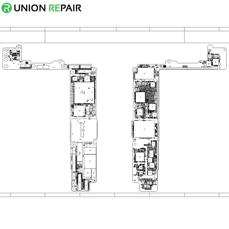 qualcomm version schematic diagram searchable pdf for iphone 8 plus rh unionrepair com schematic diagram iphone [ 1500 x 1500 Pixel ]