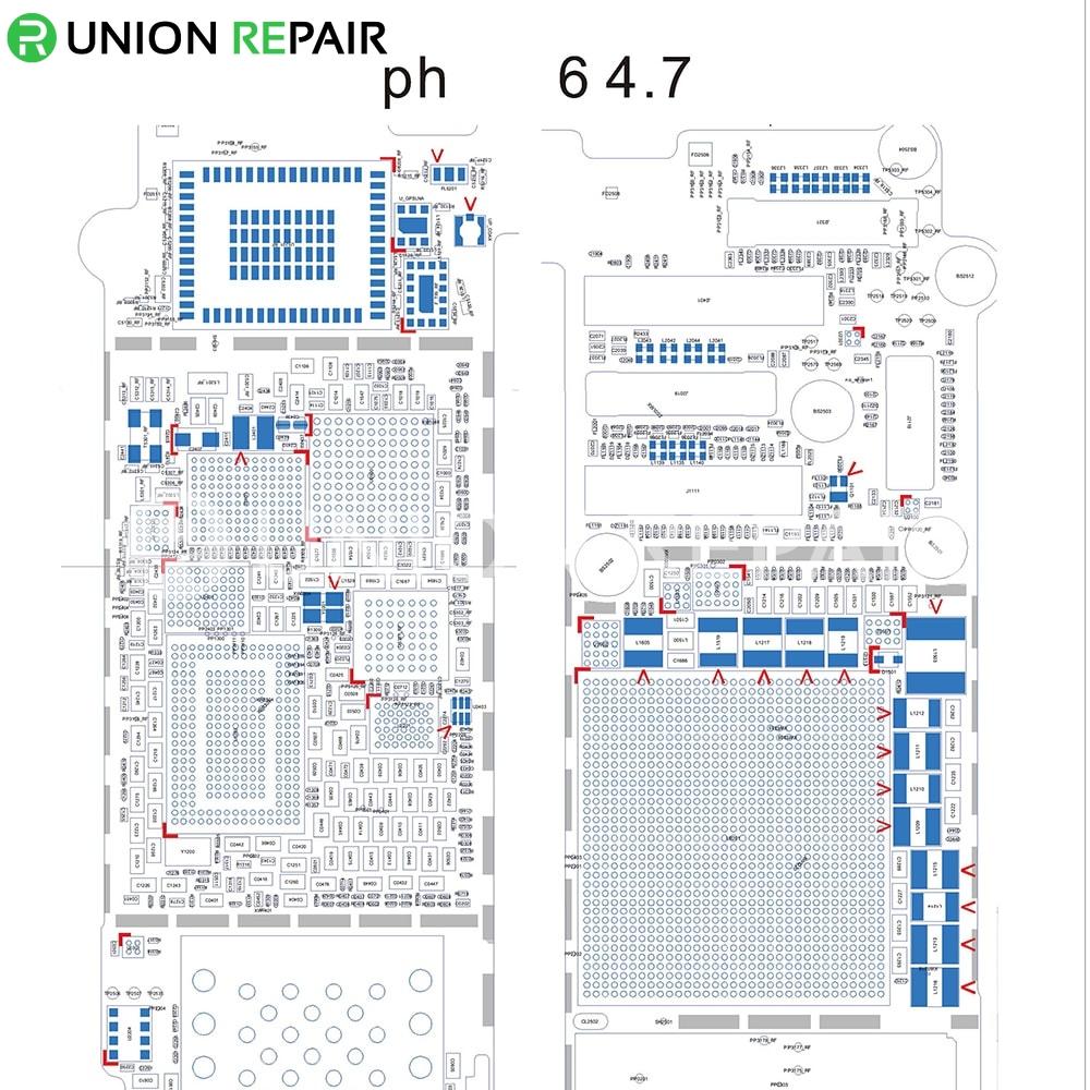 schematic diagram searchable pdf for iphone 6 6p 5s 5c 5 4s 4 pdf rh unionrepair [ 1000 x 1000 Pixel ]