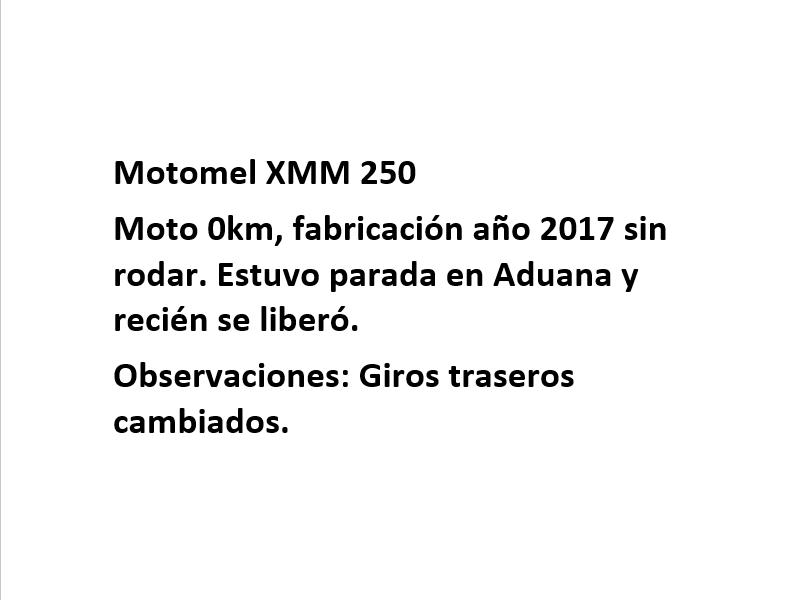 Moto Motomel XMM 250 Enduro linea 2018