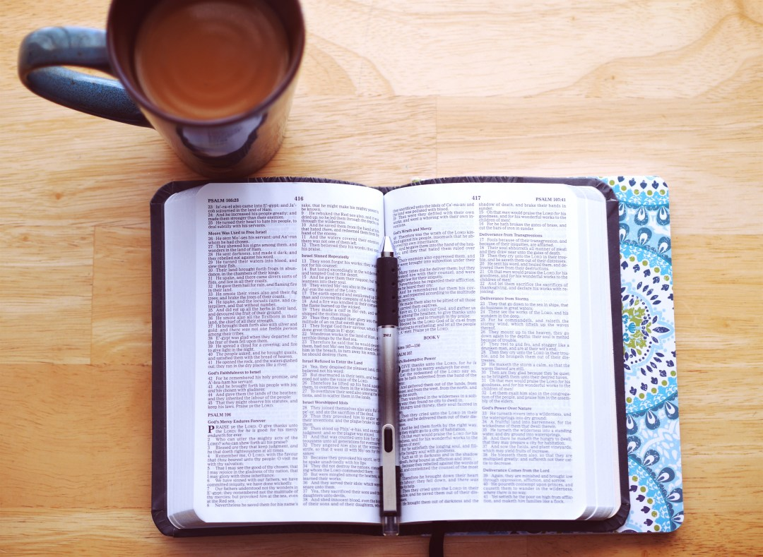 Keyword Open Book With Coffee And Pen Photo By Aaron Burden
