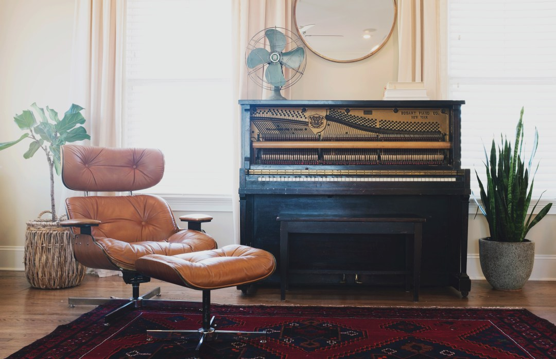Cozy pianists room  HD photo by Lauren Mancke