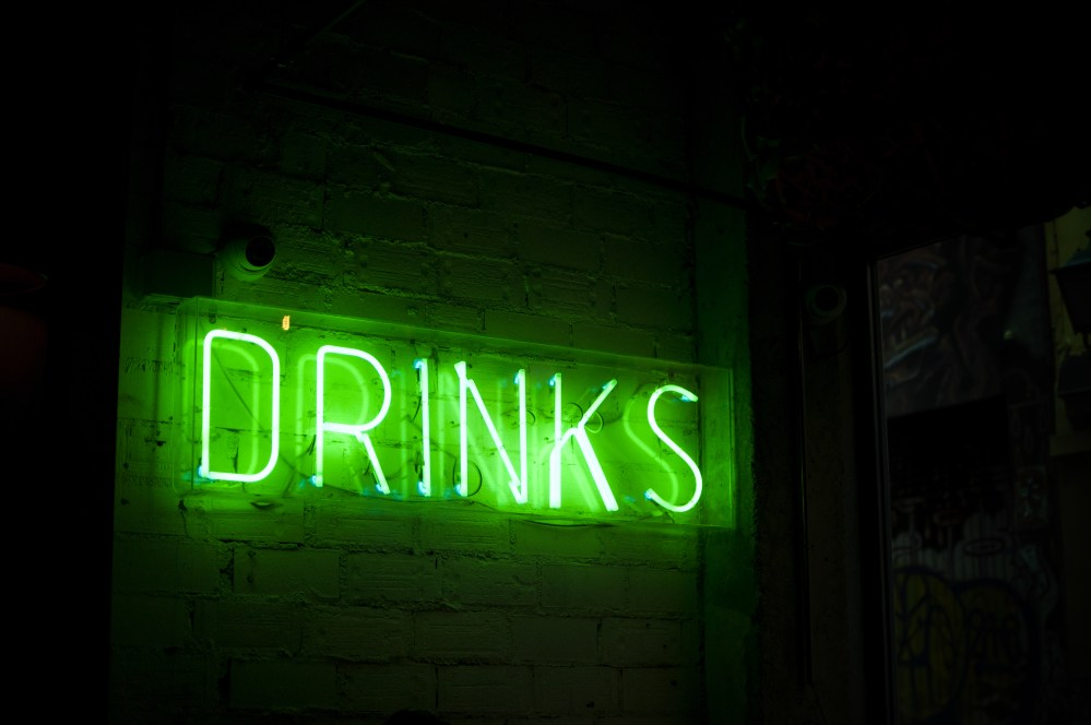 Vodka Quotes Wallpapers Green Drinks Neon Signage Photo Free Neon Image On Unsplash