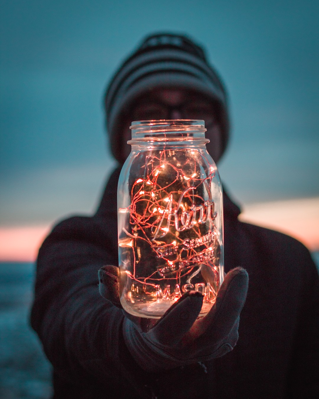 Creative Hd Wallpapers Free Download Lights Fairy Lights Jar And Glass Hd Photo By Garidy