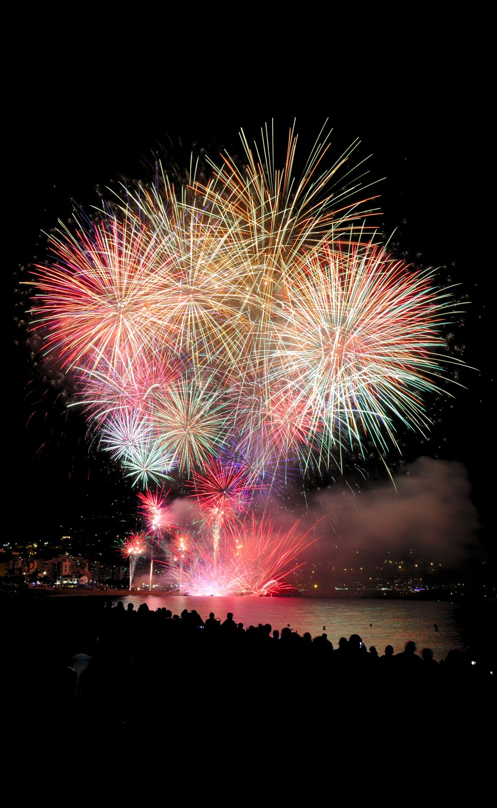fireworks at blanes hd