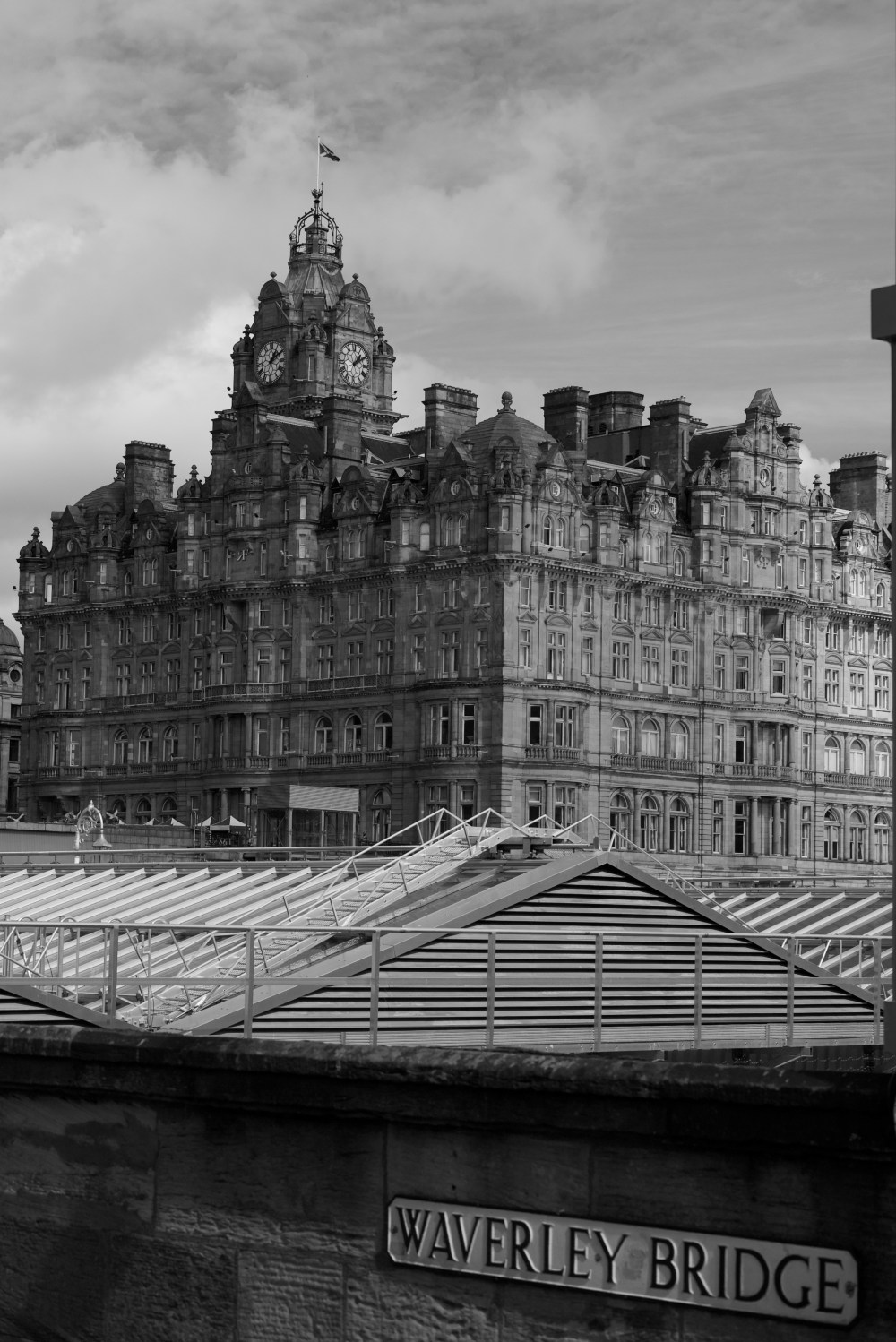 The Impressive Balmoral Hotel In Edin Hd Photo By Andy