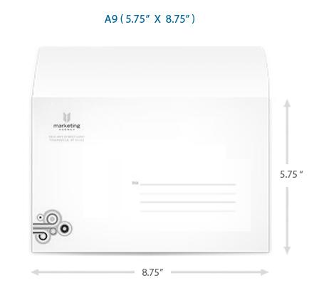 A9 Envelope Direct Mailing Envelopes