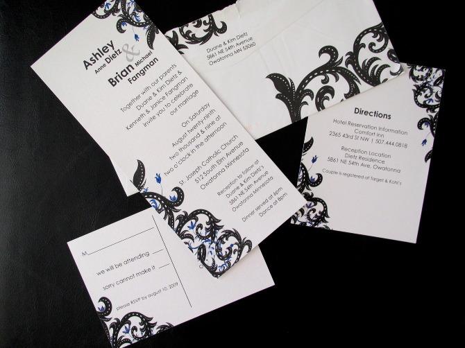 Wedding Invitation Sle 03