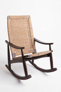 Woven Rocker Chair