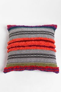 Tufted Stripe Pillow - Urban Outfitters