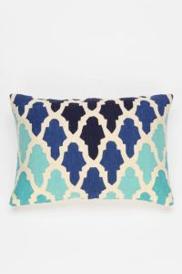 Magical Thinking Flourish Tile Pillow - Urban Outfitters