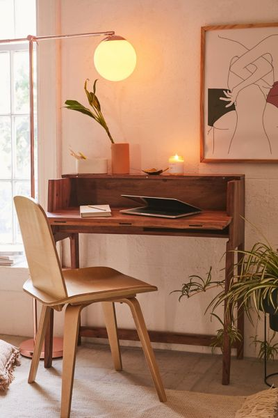 MidCentury Fold Out Desk  Urban Outfitters