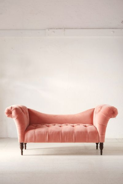 fainting sofa purple on back antoinette coral urban outfitters slide view 2