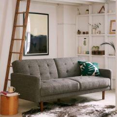 Berwick Mid Century Sleeper Sofa Cloth Set Designs Vintage Chesterfield The Company ...