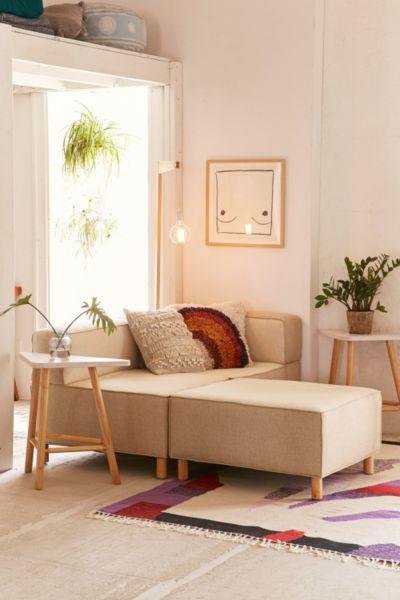 custom sectional sofa aqua blue bed modular urban outfitters