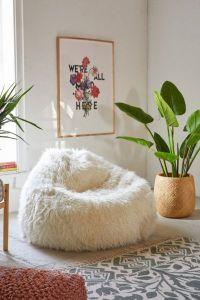 Aspyn Faux Fur Shag Bean Bag Chair | Urban Outfitters