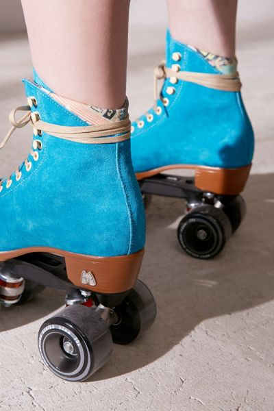 turquoise kitchen rugs over sink lighting moxi suede roller skates   urban outfitters