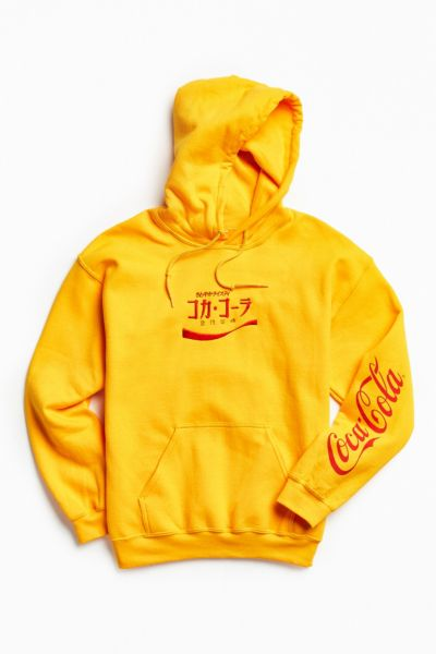 chinese kitchen accessories cabinet software coca-cola embroidered hoodie sweatshirt | urban outfitters