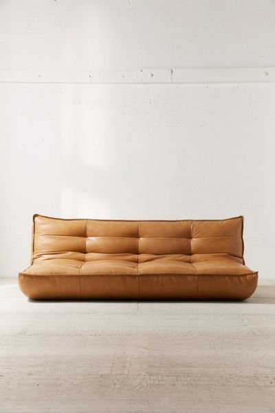 all leather sofa bed 3 piece rotunda black and recliner set greta recycled xl sleeper urban outfitters slide view