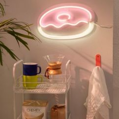 Western Kitchen Decor Countertops Cost Per Square Foot Donut Neon Sign | Urban Outfitters