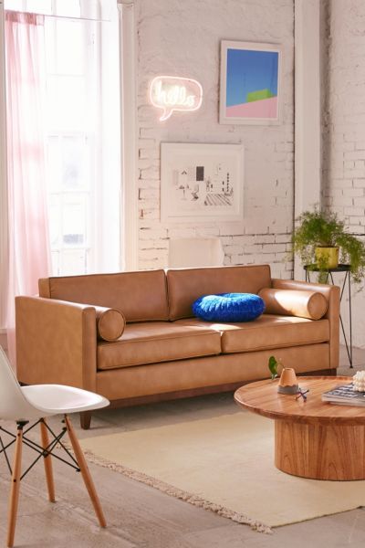 red leather sofa sets on sale bridgewater style piper petite recycled | urban outfitters