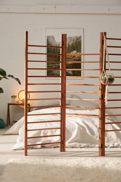urban outfitters living room ideas prints for wall apartment furnishings small space luciana ladder storage divider screen