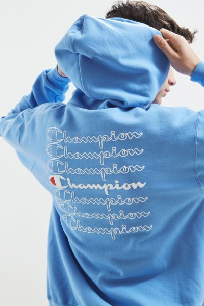 Champion Stacked Eco Hoodie Sweatshirt  Urban Outfitters