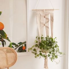 Hanging Chair Urban Outfitters Cheap Unusual Chairs Large Macrame Wall Planter Your Gallery