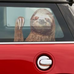 Kitchen Curtains Sets Stuff Sloth Car Decal | Urban Outfitters