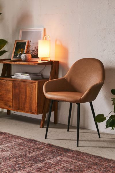 metal dining chairs johannesburg portable lift chair device lounge urban outfitters remy faux leather arm