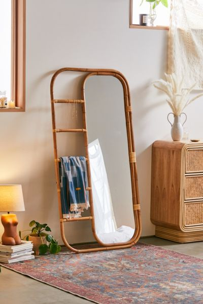white bohemian hanging chair cracker barrel rocking pads bedroom decor furniture art more urban outfitters ria leaning rattan mirror