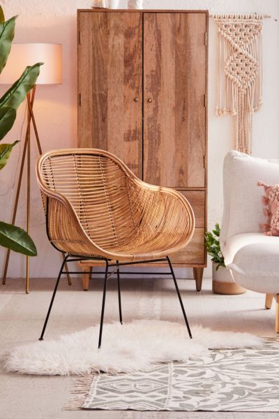 hanging chair urban outfitters office sale dining lounge chairs lillian rattan